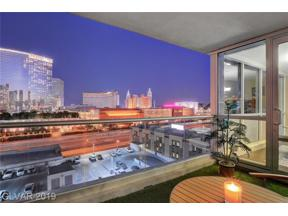 Property for sale at 4575 Dean Martin Drive Unit: 1007, Las Vegas,  Nevada 89103