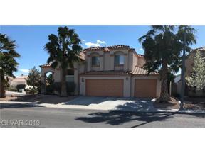 Property for sale at 5101 Crimson Ridge Drive, Las Vegas,  Nevada 89130