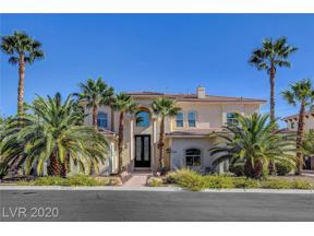 Property for sale at 3236 Costa Smeralda Circle, Las Vegas,  Nevada 89117