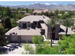 Property for sale at 701 Canyon Greens Drive, Las Vegas,  Nevada 89144