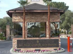 Property for sale at 698 Oakmont Avenue 1312, Las Vegas,  Nevada 89109