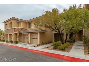 Property for sale at 717 Peachy Canyon Circle 102, Las Vegas,  Nevada 89144