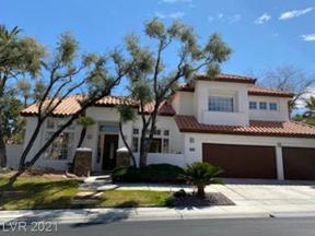 Property for sale at 8321 Granite Lake Drive, Las Vegas,  Nevada 89128