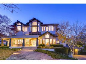 Property for sale at 1533 Champion Hills Lane, Las Vegas,  Nevada 89134