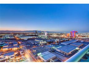 Property for sale at 4525 Dean Martin Drive Unit: 2806, Las Vegas,  Nevada 89103