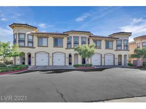 Property for sale at 28 Via Vasari 104, Henderson,  Nevada 89011