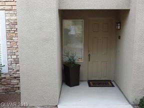 Property for sale at 820 Peachy Canyon Circle Unit: 101, Las Vegas,  Nevada 89144