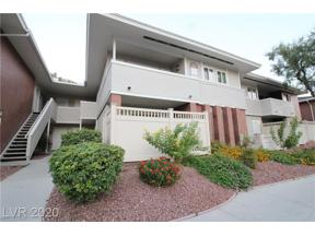 Property for sale at 2866 Loveland Drive 2013, Las Vegas,  Nevada 89109