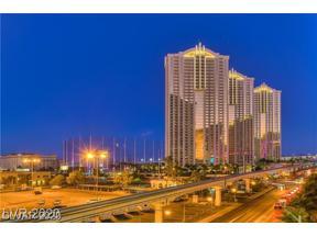 Property for sale at 135 E HARMON Avenue 2807, Las Vegas,  Nevada 89109