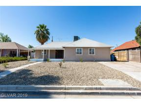 Property for sale at 1016 Sweeney Avenue, Las Vegas,  Nevada 89104