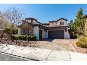 Property for sale at 1999 Alcova Ridge Drive, Las Vegas,  Nevada 89135