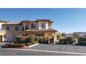 Property for sale at 18 Via Visione Unit: 104, Henderson,  Nevada 89011