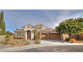 Property for sale at 1484 Romanesca Drive, Henderson,  Nevada 89052