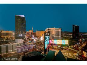 Property for sale at 3722 Las Vegas Boulevard Unit: 2208, Las Vegas,  Nevada 89158