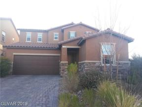 Property for sale at 1101 Echo Pass Street, Henderson,  Nevada 89052