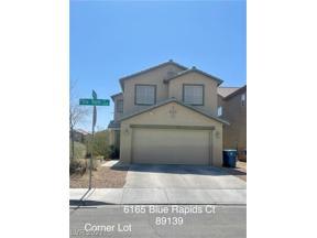 Property for sale at 6165 Blue Rapids Court, Las Vegas,  Nevada 89139