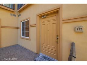 Property for sale at 2455 Serene Avenue Unit: 222, Las Vegas,  Nevada 89123
