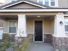 Property for sale at 3207 Color Collage Walk, Las Vegas,  Nevada 89044