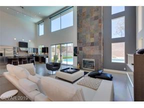 Property for sale at 1417 Canyon Ledge Court, Las Vegas,  Nevada 89117