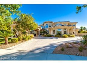 Property for sale at 9000 Players Club Drive, Las Vegas,  Nevada 89134