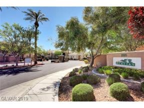 Property for sale at 2325 Windmill Unit: 1724, Henderson,  Nevada 89074
