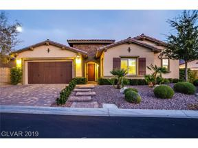 Property for sale at 758 Porto Mio Way, Las Vegas,  Nevada 89138