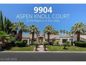 Property for sale at 9904 Aspen Knoll Court, Las Vegas,  Nevada 89117
