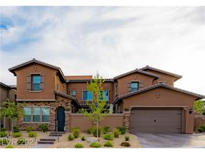 Property for sale at 359 Port Reggio Street, Las Vegas,  Nevada 89138