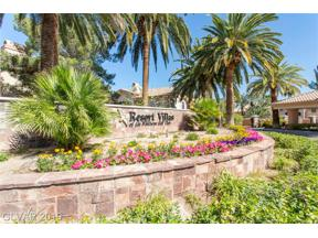 Property for sale at 2050 West Warm Springs Road Unit: 1923, Henderson,  Nevada 89014