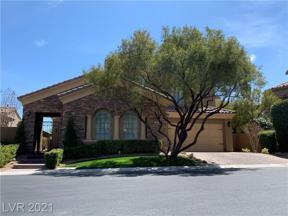Property for sale at 4095 Villa Rafael Drive, Las Vegas,  Nevada 89141