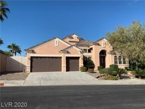 Property for sale at 2089 Ponticello Drive, Henderson,  Nevada 89052