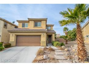 Property for sale at 433 Hidden Hole Drive, Las Vegas,  Nevada 89148