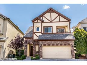 Property for sale at 9165 Tudor Park Place Unit: N/A, Las Vegas,  Nevada 89145