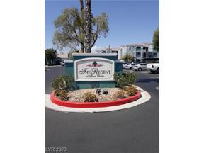 Property for sale at 6955 Durango Drive 1106, Las Vegas,  Nevada 89149