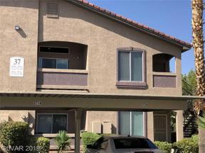 Property for sale at 2305 Horizon Ridge Unit: 3721, Henderson,  Nevada 89052