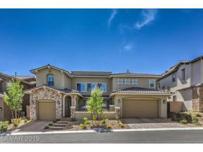 Property for sale at 383 Calabria Ridge Street, Las Vegas,  Nevada 89138