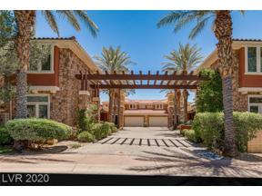 Property for sale at 20 Cerchio Alto, Henderson,  Nevada 89011