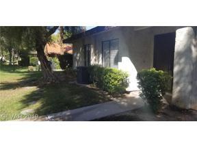 Property for sale at 2456 El Paseo Circle, Las Vegas,  Nevada 89121