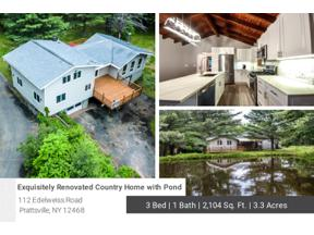 Property for sale at 112 Edelweiss Road, Lexington,  New York 12468