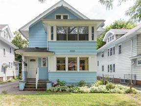 Property for sale at 207 Genesee Park Boulevard, Rochester,  New York 14619