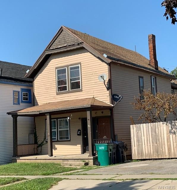 Photo of home for sale at 127 14th Street, Buffalo NY