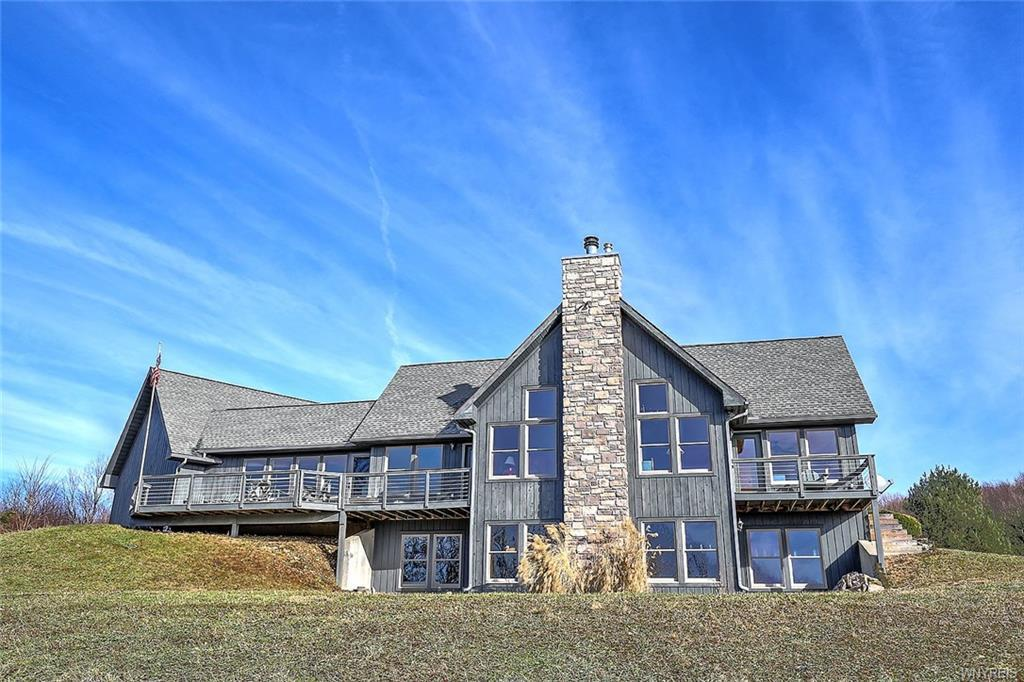 Photo of home for sale at 8122 Bailey Hill Road, East Otto NY
