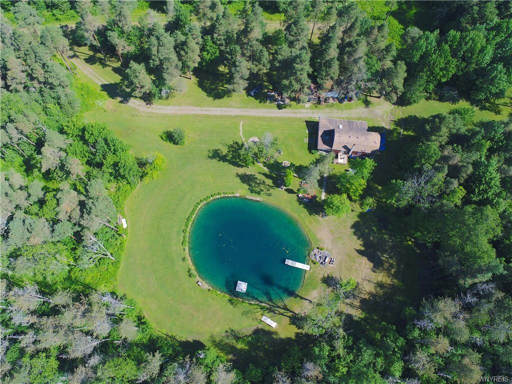 Photo of home for sale at 7530 phillips Road, Franklinville NY