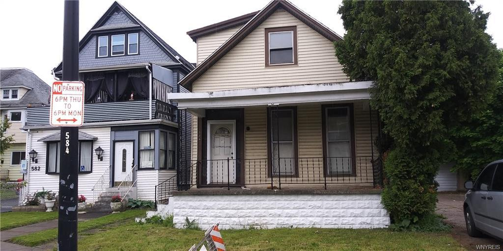 Photo of home for sale at 584 Utica Street W, Buffalo NY