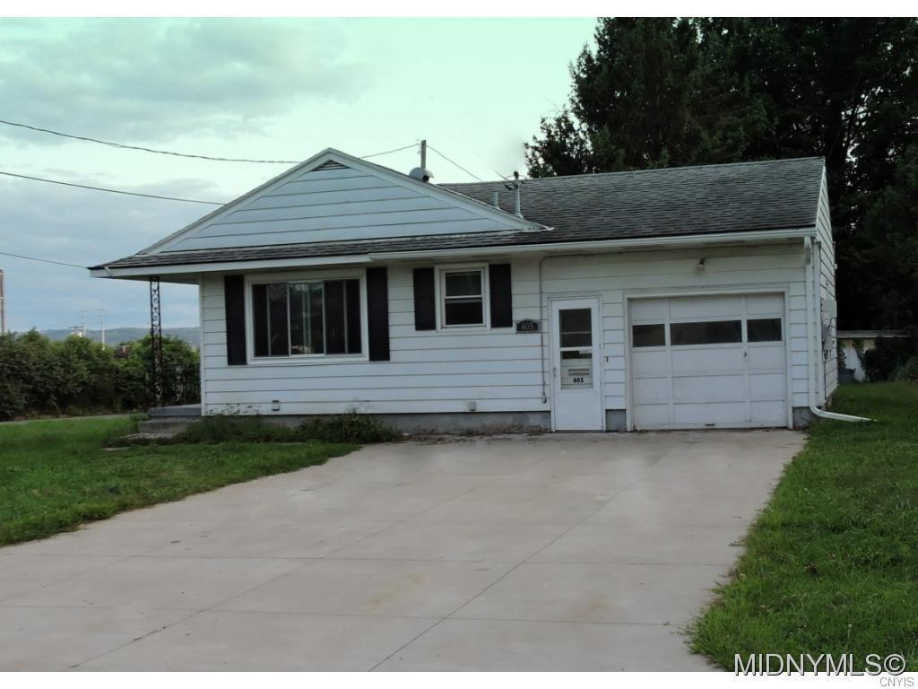 Photo of home for sale at 405 Tamarack Street, Utica NY