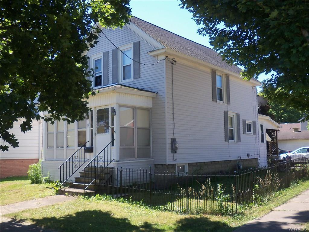 Photo of home for sale at 14 Riggs Street, Franklinville NY