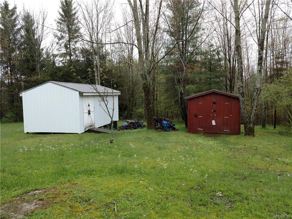 Photo of home for sale at 8729 Barber Rd, Rushford NY