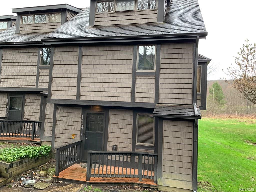 Photo of home for sale at 119 Holiview Rd-The Woods, Ellicottville NY