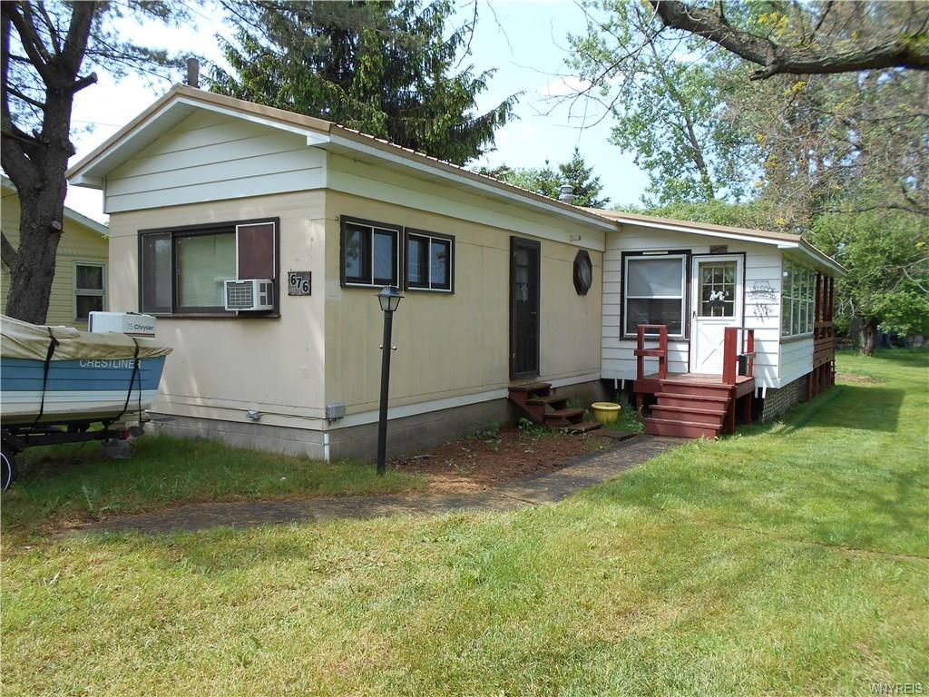 Photo of home for sale at 676 Yacht Club Drive, Machias NY