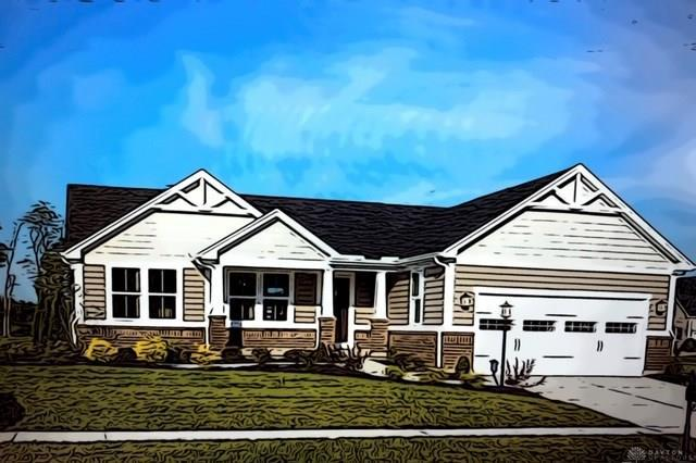 Photo of home for sale at 891 Cedar Grove Drive, Tipp City OH